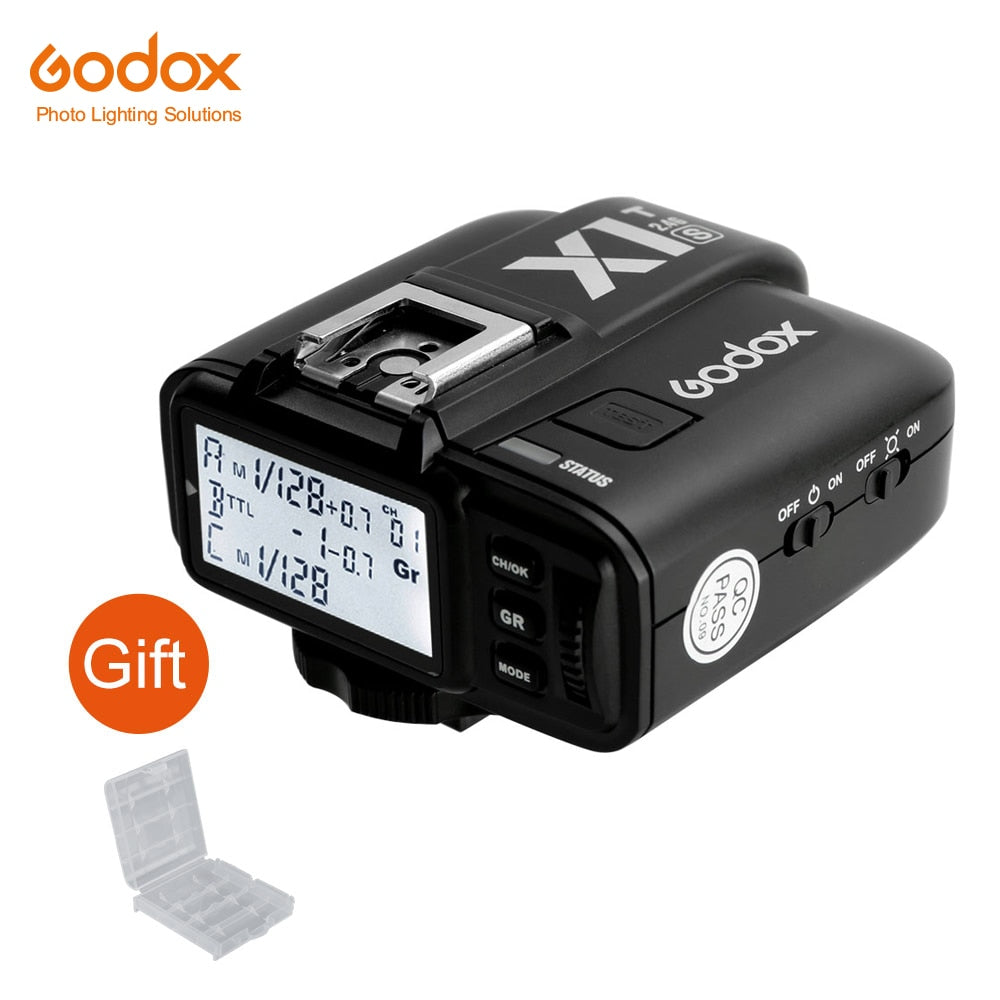 Godox X1T-S TTL 2.4G Wireless Trigger Transmitter for Sony DSLR Cameras with MI Shoe a77II, a7RII, a7R, a58, a99, ILCE6000L - Mode de vie Photography and Photo Presets