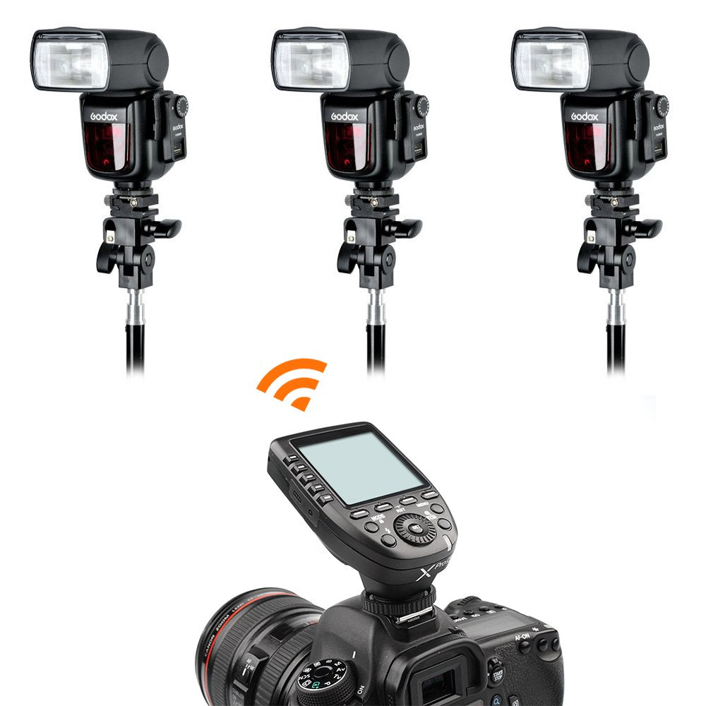 Godox XPro-F Transmitter TTL HSS 2.4G Wireless X System LCD Screen + XTR-16S Receiver for Canon DSLR Godox V850C V860C - Mode de vie Photography and Photo Presets
