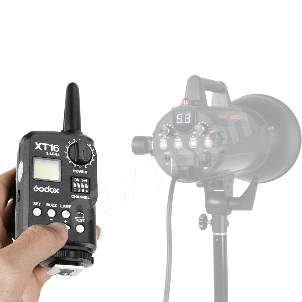 Godox XT-16 Wireless 2.4G Flash Transmitter for Studio Flashes ( Transmitter Only) - Mode de vie Photography and Photo Presets