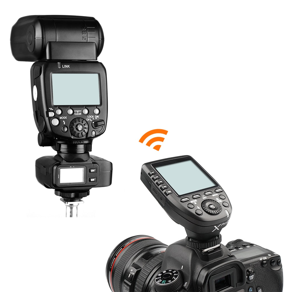 Godox Xpro-N i-TTL II 2.4G X System Wireless Control Remote Trigger with 3x X1R-N Controller Receiver Compatble for Nikon Flash - Mode de vie Photography and Photo Presets