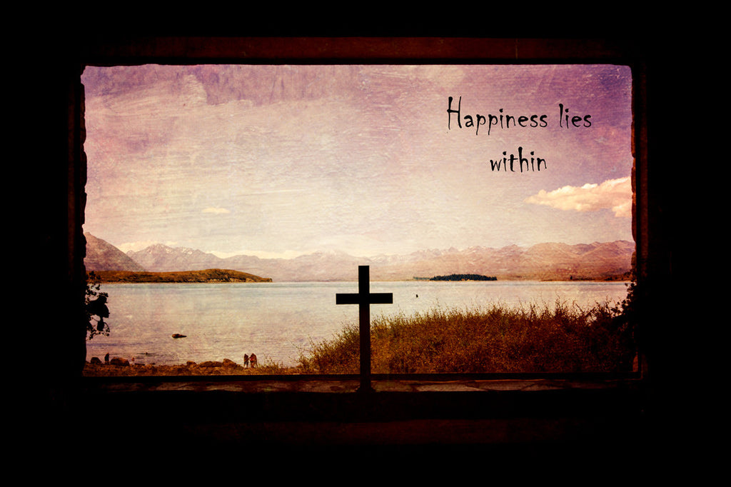 Happiness Lies Within | Art Print