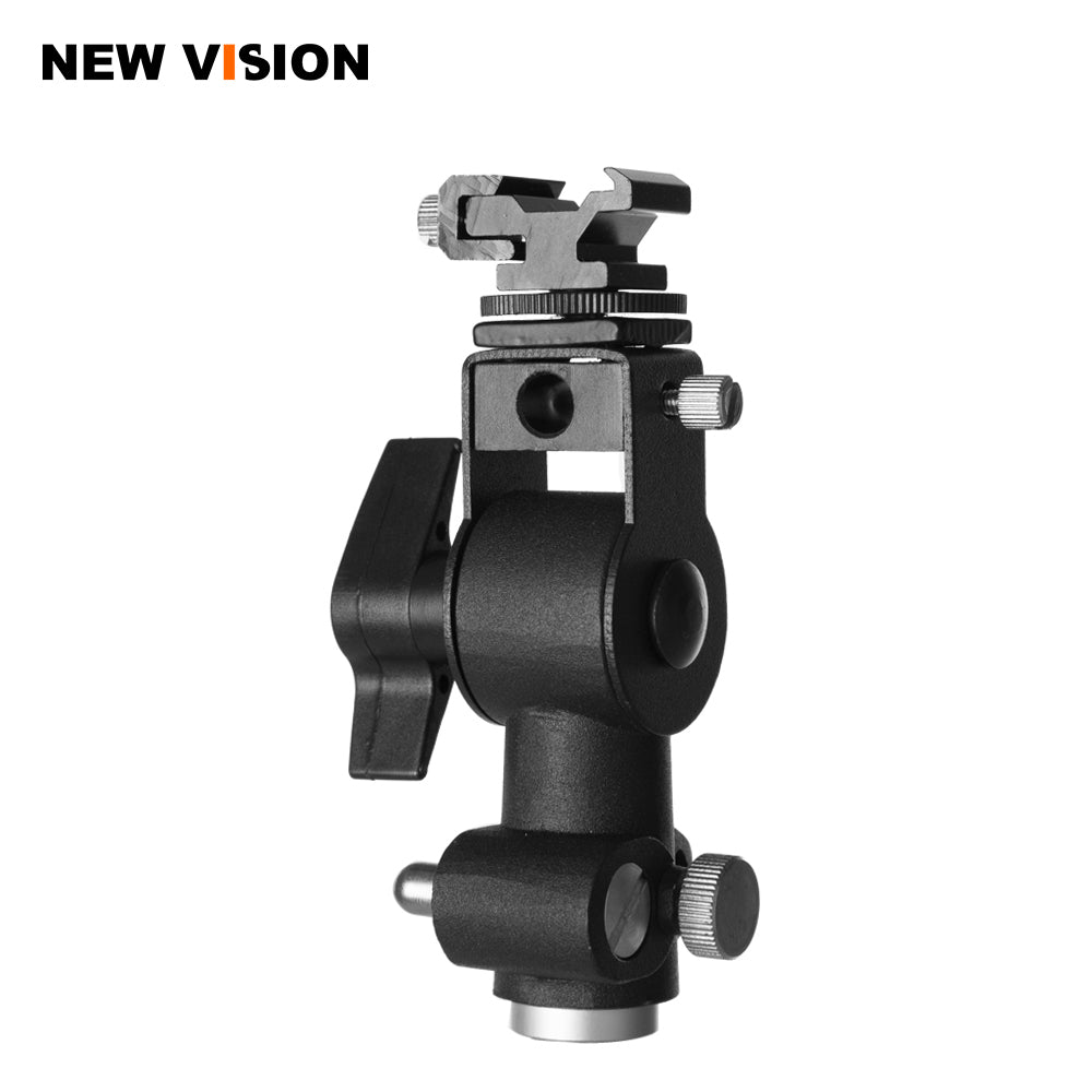 High Quality Metal Camera D Type Flash Shoe Umbrella Holder Mount Light Stand Bracket - Mode de vie Photography and Photo Presets
