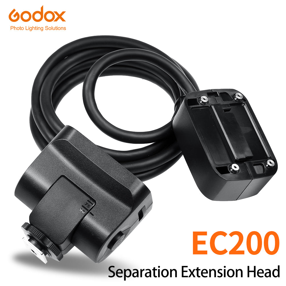 In Stock Godox EC200 1.85m Hot shoe Remote Separation Extension Head Flash - Mode de vie Photography and Photo Presets