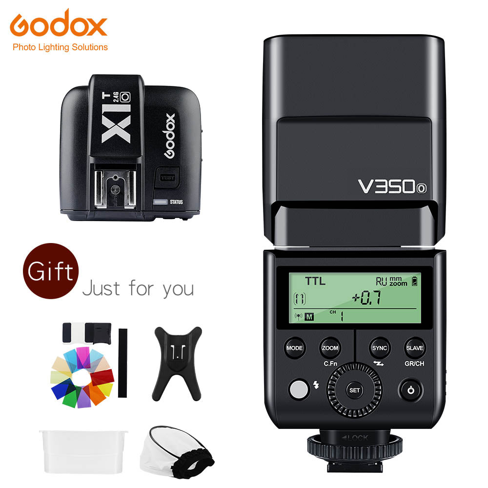 In Stock Godox V350O TTL HSS 1/8000s GN36 0.1~1.7s recycle Camera Speedlite Flash - Mode de vie Photography and Photo Presets