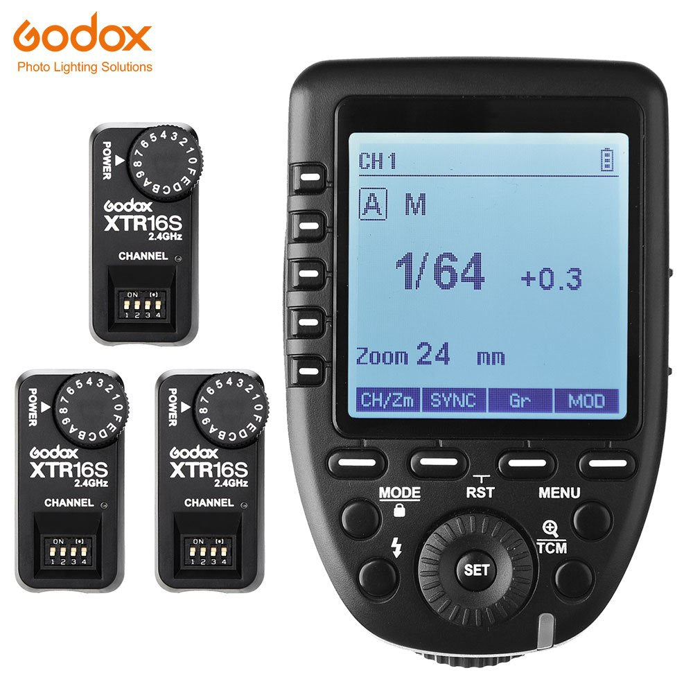 In Stock Godox Xpro-S TTL 2.4G Wireless X system Transmitter Trigger +XTR-16S For Sony A77 II A99 ILCE-6000L A7R III V850 V860 - Mode de vie Photography and Photo Presets