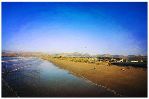 New Brighton Beach | NZ Art Print