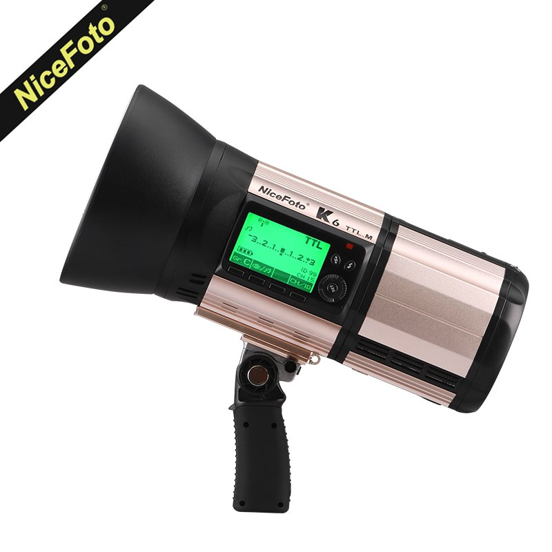 NiceFoto K6 600Ws GN89 TTL HSS 1/8000S 2.4G Wireless Battery Powered Flash - Mode de vie Photography and Photo Presets
