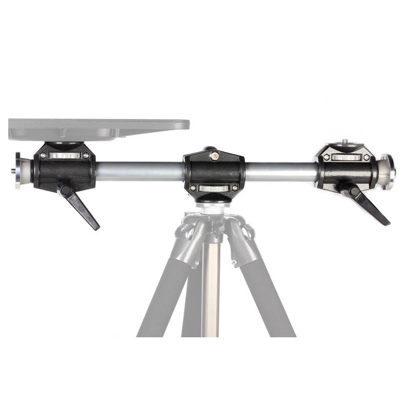 Silver Black Tripod Cross Arm Mount Bracket Camera Computer - Mode de vie Photography and Photo Presets