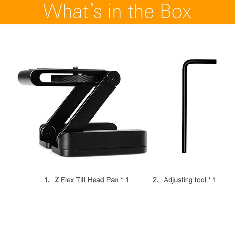 Tripod Heads Solution Photography Studio Camera Tripod Z Pan & Tilt Flex Tilt Head - Mode de vie Photography and Photo Presets