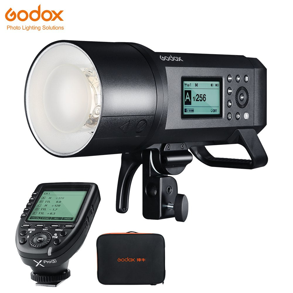 Upgrade Godox AD600Pro Outdoor Flash Li-on Battery TTL HSS Built-in 2.4G Wireless - Mode de vie Photography and Photo Presets