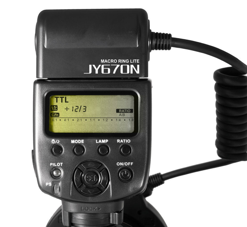 VILTROX JY-670N i-TTL Macro Ring Flash Lite Speedlite For Nikon - Mode de vie Photography and Photo Presets