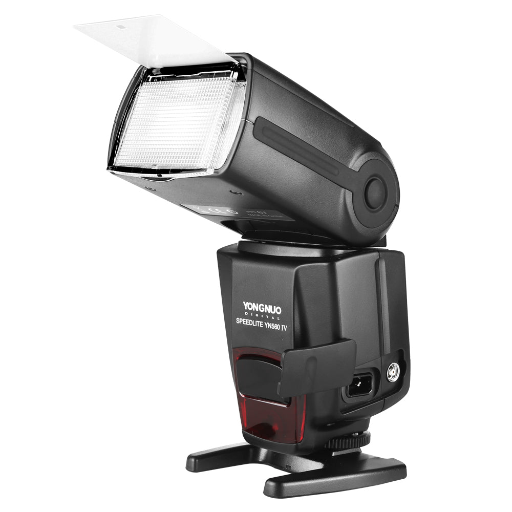 YONGNUO YN560 IV Wireless Flash Speedlite Master + Slave Flash + Built-in Trigger System - Mode de vie Photography and Photo Presets