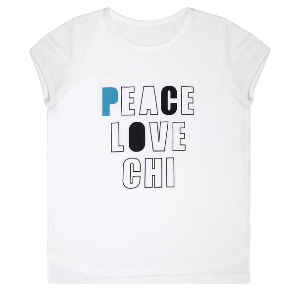 Rollin' Tee - Peace Love Chi - By Chi Khi
