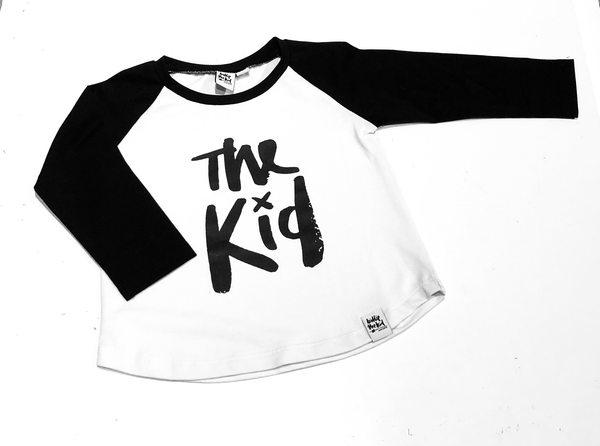 The Kid Raglan Tee