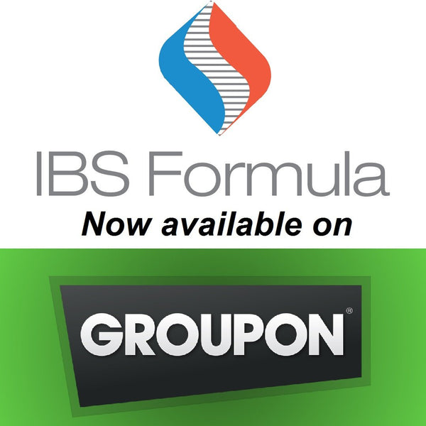 Our All Natural IBS Treatment is now available for purchase on Groupon