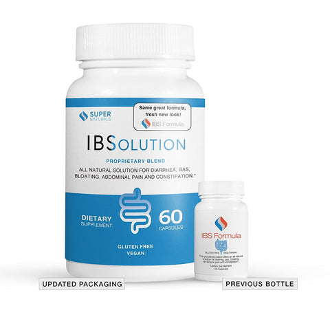 IBSolution bottle (formerly IBS Formula). Testimonials and reviews from customers getting real relief from their sympoms taking our all natural treatment