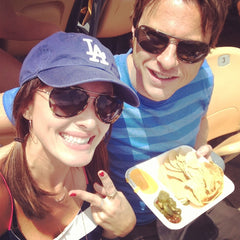 Jeff Burgee and Lindsay Lebby now IBS symptom free enjoying nachos with cheese and jalepanos