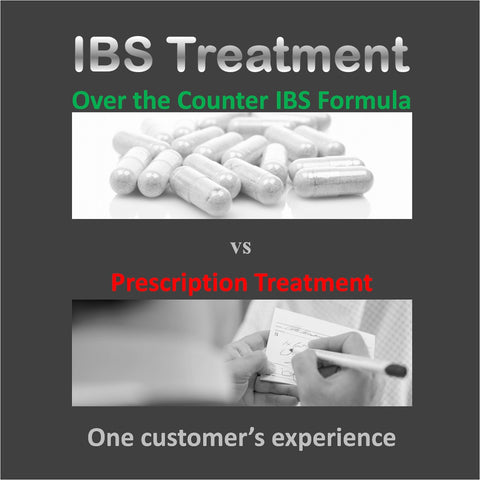 IBS Treatment - Over the Counter IBS Formula vs Prescription Treatment - One customer's experience