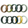 The Ultimate Silicone Rings Set - 10 Pack