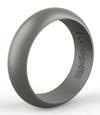 Grey Silicone Wedding Band by KeepFit