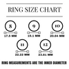 Silicone Wedding Ring Size Chart