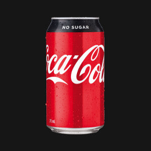 Coke No Sugar Can