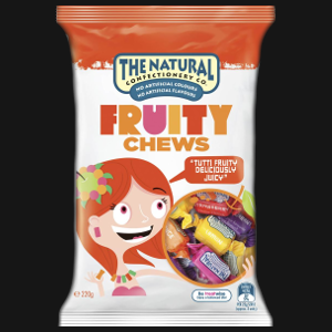 Natural Confectionery - Fruity Chews