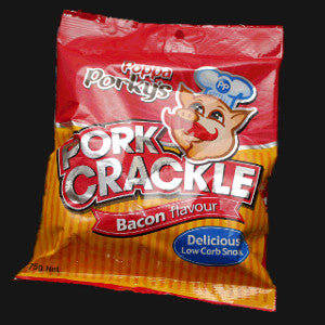 Poppa Porkys Pork Crackle - Bacon