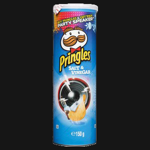 Pringles - Salt & Vinegar