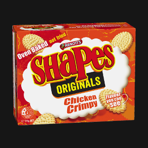 Shapes - Chicken Crimpy