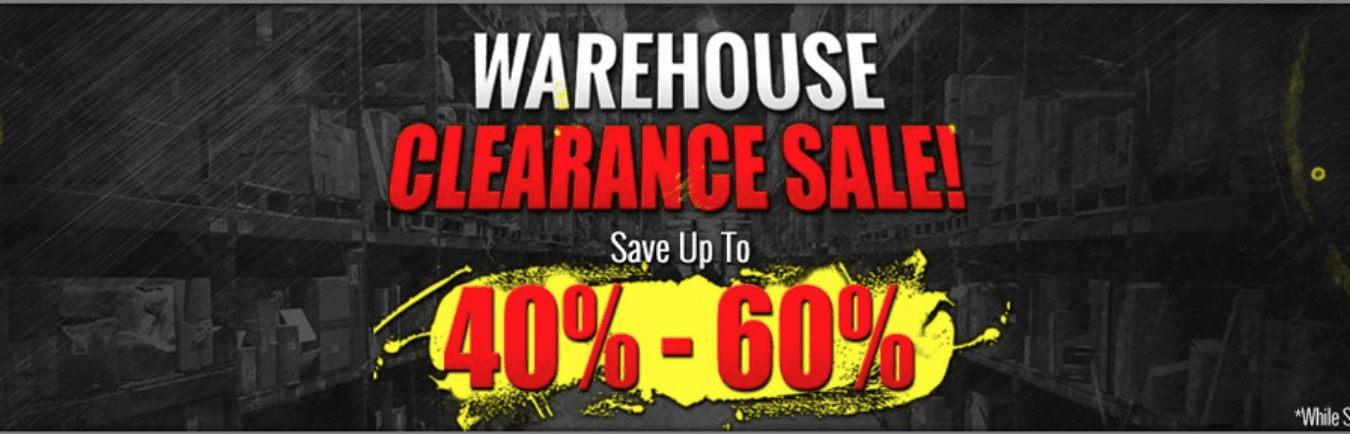 CLEARANCE - UP TO 90% 0FF!