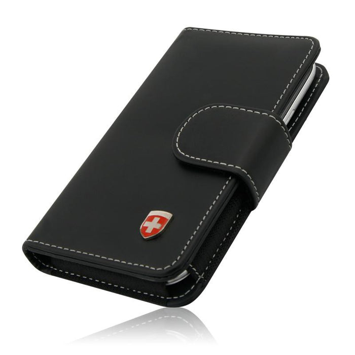Swiss Leatherware Bank II for Most Large Smartphones -iPhone 8 Plus