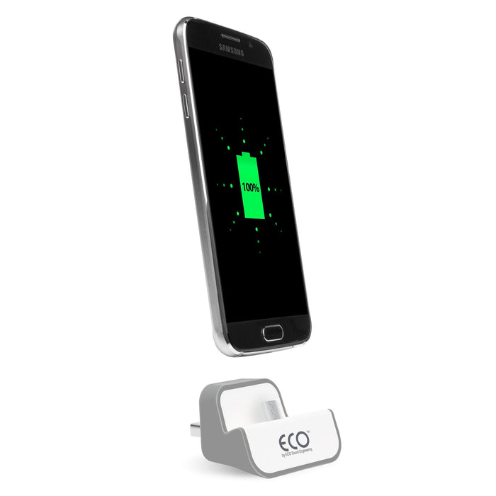 ECO Socket Dock-It Micro USB Adapter - Grey