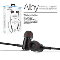 Naztech Alloy Advanced Magnetic Wireless Earphones