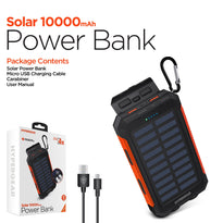 HyperGear 10000mAh Solar Power Bank
