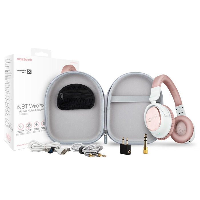 1eb1d102f4c Naztech i9 Bluetooth Active Noise Cancelling Headphones — getModern