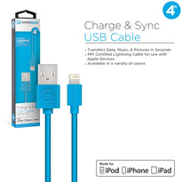 MFi Lightning 4ft. Charge & Sync Cable