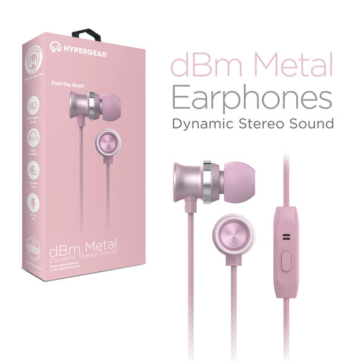 dBm Metal Earphones -Wired