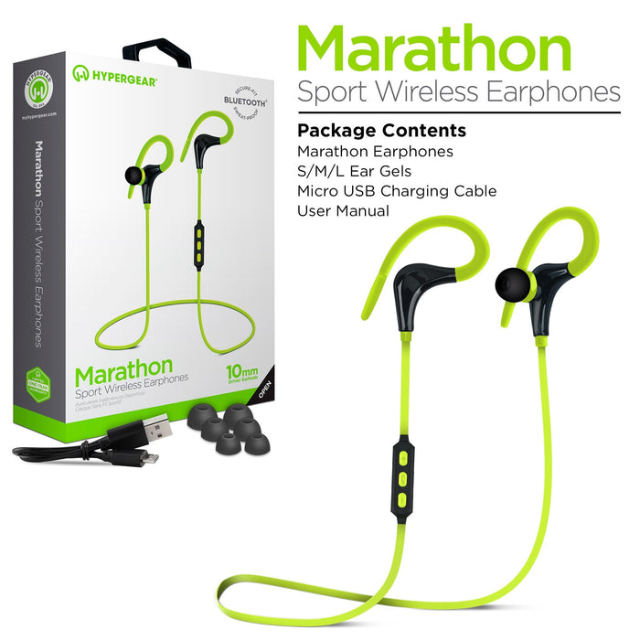 Marathon Sport Wireless Earphones