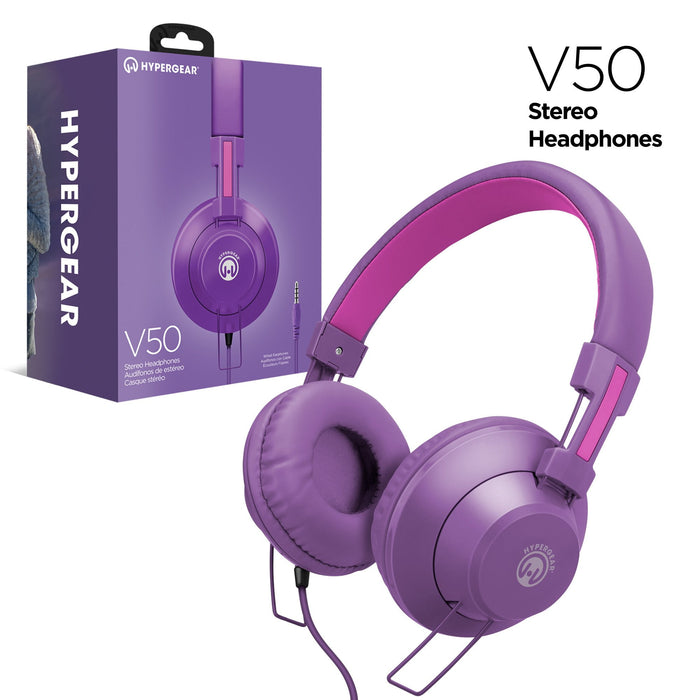 V50 Stereo Headphones -Wired