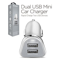 HyperGear Dual USB Mini 2.4A Car Charger