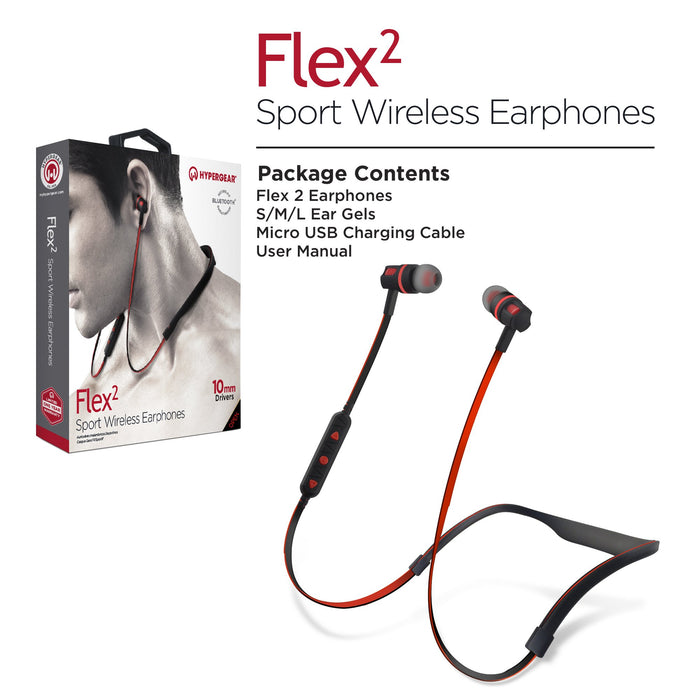 FLEX 2 SPORT WIRELESS EARPHONES