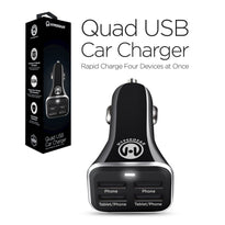 HyperGear High-Power Quad USB 6.8A Car Charger