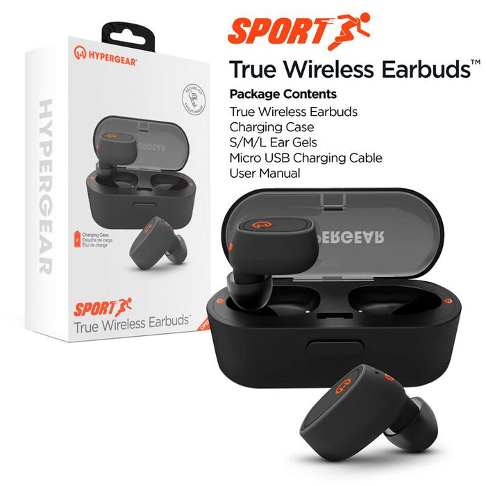 HyperGear Sport True Wireless Earbuds