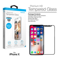 Naztech Premium HD 3D Tempered Glass -iPhone X