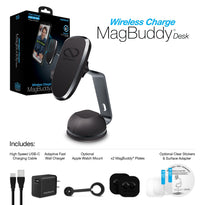 MagBuddy Wireless Charge Desk Mount
