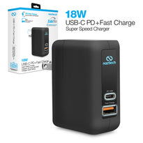 18W USB-C PD + Adaptive Fast Wall Charger
