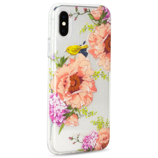 Naztech Spring Garden Hybrid PC + TPU Case -iPhone X