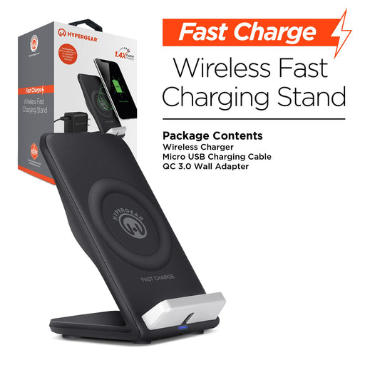 HyperGear Wireless QI Fast Charging Stand