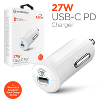 HyperGear USB-C PD 27W Car Charger